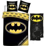 Batman Kinderbettwäsche » - Wende-Bettwäsche-Set, 135x200 cm und Handtuch, 70x140 cm«, 100% Baumwolle
