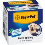 BAY O PET Ohrreiniger f.kleine Hunde/Katzen 2X25 ml