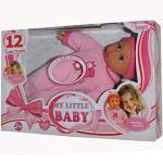 BAYER My little Baby 12 Funktionen Weichkörperpuppe Schlafaugen Puppe Mädchen Prinzessin 30cm