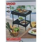 BBQ Grill Black Rack Unold 58550 Standgrill Tischgrill für drinnen und draußen