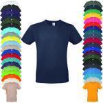 Lila Kurzärmelige B&C T-Shirts für Damen