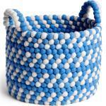 Bead Basket Korb mit Griff Blue Dash Hay