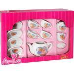 Beauty Club Porzellan-Teeservice, Puppengeschirr, 11-teilig