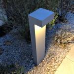 Silbergraue BEGA Außenleuchten & Außenlampen