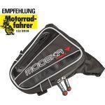Beintasche Daypack schwarz Hüfttasche Reisetasche 2 Liter verstellbare Gurte, Farbe: schwarz, Größe: uni