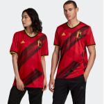 Rote adidas Belgien Trikots für Herren - Heim