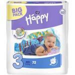 Bella Happy Babywindeln Midi Gr. 3 (5-9 kg), atmungsaktiv, 72 St.