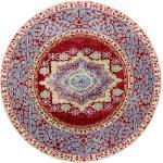benuta Teppich Visconti Multicolor ø 120 cm rund - Vintage Teppich im Used-Look