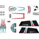 BERG Ersatzteil Sticker-Set XL Rahmen - Aufkleber Race