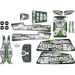 BERG Ersatzteil Sticker-Set XL Rahmen - Aufkleber X-Plore