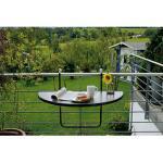 Best Freizeitmöbel Balkonhängetisch Butler 100x50cm anthrazit
