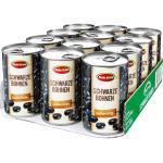 Beste Ernte Bohnen schwarz 265 g, 12er Pack