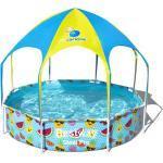 """Bestway Kinderpool """"Splash-in-Shade"""", mit Sonnendach, 244x51 cm, bunt"""