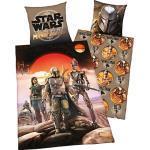 Bettwäsche Star Wars Mandalorian, Renforcé, 135 x 200 + 80 x 80 cm
