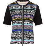 Betty Barclay Shirtjacke »mit Streifen« Hotfix, schwarz