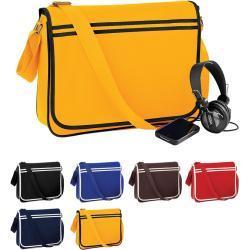 Retro BagBase Messenger Bags & Kuriertaschen für Herren