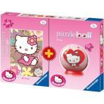 Bi-pack Puzzleball + Puzzle 100 Teile - Hello Kitty