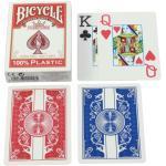 Bicycle Karten - Pokerkarten - Prestige - Jumbo Blatt - Plastik