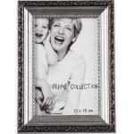BigDean Bilderrahmen »Retro in Silber−Farben 19x14 cm − Antik−Optik im Vintage−Stil − Innenmaße ca. 10x15 cm − Nostalgischer Fotorahmen für Bilder