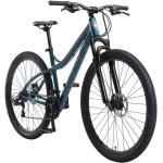 BIKESTAR Hardtail Alu Mountainbike Shimano 21 Gang Schaltung, Scheibenbremse 29 Zoll Reifen | 18 Zoll Rahmen | Blau & Grau