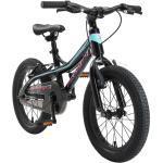 BIKESTAR Kinder Fahrrad Alu Mountainbike V-Bremse ab 4 - 5 Jahre | 16 Zoll | Schwarz & Blau