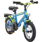 BIKESTAR Kinderfahrrad für Mädchen und Jungen ab 3-4 Jahre | 12 Zoll Kinderrad Classic | Fahrrad für Kinder Blau & Grün | Risikofrei Testen