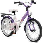 bikestar Premium Sicherheits Kinderfahrrad 16 Classic Lila Weiß