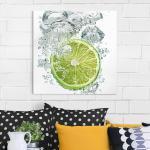 Bild Küche - Lime Bubbles
