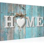 Bilder Home Vintage Wandbild 60 x 40 cm Vlies - Leinwand Bild XXL Format Wandbilder Wohnung Deko Kunstdrucke - MADE IN GERMANY - Fertig zum Aufhängen 014815b
