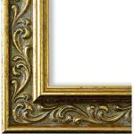 Goldene Antike Online Galerie Bingold Verona Fotorahmen aus Massivholz