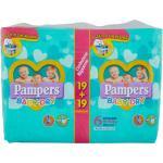 Bipack Pampers Baby Dry Extra große 15-30 kg Größe 6 (38 Stück)