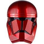 BIRDEU Sith Trooper Helm Red Trooper Maske SW 9 The Rise of Skywalker Cosplay Kostüm Replik für Erwachsene Herren Halloween Kleidung Merchandise