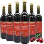 BLEICHHOF® Sauerkirschsaft - 100% leckerer Direktsaft - [6 x 0,72L] Frische Früchte - ohne Zuckerzusatz und Zusatzstoffe - Nachhaltig hergestellt im Familienbetrieb in Meckenheim