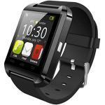Blesiya U8 Sport Smart Watch Männer Smartwatch Bluetooth Sport Smart Watch Tragbares Gerät - Schwarz