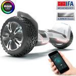 """Bluewheel 8.5"""" Premium Offroad Hoverboard HX510 SUV; Sicherheitsmodus... Weiß"""