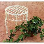 Blumenhocker Romance 25 cm Blumenständer 20218 Pflanzenständer Beistelltisch Wei 4019251202183 (12021825)