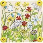 Blumenpresse Frühlingswiese