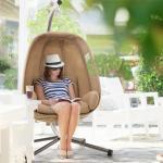 Blumfeldt Bella Donna Hängesessel Sitzkissen 180g Polyester beige