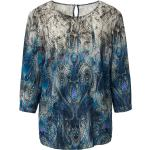 Bluse-Shirt 3/4-Arm Uta Raasch blau