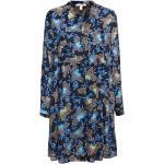 Marineblaue Esprit Herbstkleider für Damen