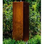 Bodenbrunnen Whalton aus Metall mit Licht