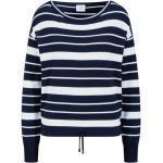 Bogner Pullover Sorea für Damen - Navy-Blau/Weiß