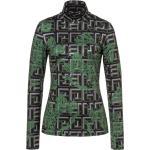 Bogner Sport Ladies Beline1 Grün-Schwarz, Damen Langarm-Shirts, Größe 34 - Farbe Soft Olive %SALE 35%