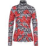 Bogner Sport Ladies Beline1 Rot-Schwarz-Weiß, Damen T-Shirts, Größe 34 - Farbe Offwhite %SALE 30%