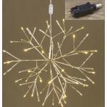 Boltze Nicky LED-Stern champagner 40 cm (champagner)