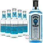 Bombay Sapphire Gin & Fever Tree Mediterranean Tonic Water Set