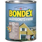 Bondex Dauerschutz-Farbe Taupe-Montana seidenglänzend 750ml