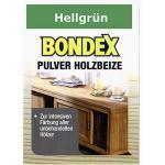 Bondex Holzbeize Pulverbeize Beutelbeize Beize auf Wasserbasis für Möbel 5er Pack - hellgrün