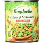 Bonduelle Erbsen mit Möhrchen feinste Auslese, 6er Pack (6 x 850 ml Dose)