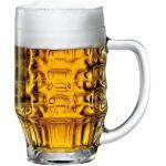 Bormioli Rocco 133930337 Malles Bierseidel, Bierkrug, Bierglas, 660ml, mit Füllstrich bei 0,5l, Glas, transparent, 6 Stück 8004360030747 (133930337)